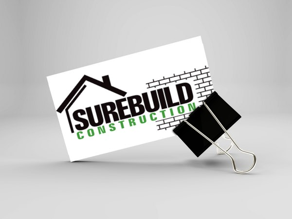 surebuild business card