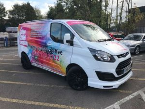 coffee van wrap